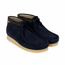 Clarks Chelsea, Ankle Suede Lace Up Boots for Men