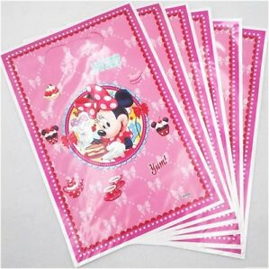 MINNIE MOUSE lolly bags/ loot bags  – Pack of 12  **AU Seller!