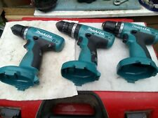 3  x  MAKITA  6280D 14.4 V DRILLS IN WORKING CONDITION