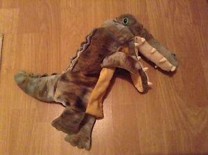 crocodile / alligator childrens puppet