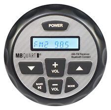 MB Quart GMR-2.5 Receptor Bluetooth Calibre Con Aux + Control De Apple 4 Rzr/ATV/UTV/Carro