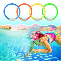 Underwater Diving Rings Water Play Toys Swimming Pool Accessories For Child Kid