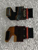 USB Toma de Carga Enchufe Cable Flexible Cargador Sony Xperia Z5 Premium E6833