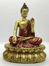 STATUA ARREDO BUDDHA BUDDA FORTUNA PROTEZIONE AMULETO INDIA ETNICO MEDITAZIONE