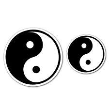 Yin Yang Taiji Chinese Philosophy Sticker New Age Mandalas Stained Glass #6895EN