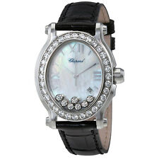 Chopard Happy Sport Diamonds Mother of Pearl Dial Stainless Steel Ladies Watch