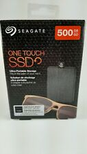 Seagate - One Touch SSD 500GB External USB 3.0 Portable Solid State Drive - New