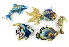 (5) Cloisonne Fish Ornaments Lot 1321