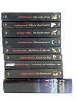 🔫  10 x Henning Mankell - Bücherpaket Sammlung Kommissar Wallander Schweden