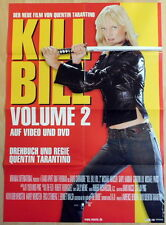Tarantino Kill Bill Vol 2 original 1 sheet movie mediathek style poster 2004