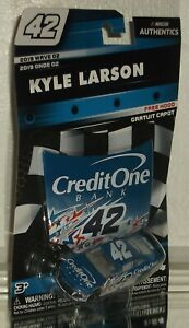 2019 KYLE LARSON #42 CREDIT ONE NASCAR SALUTES NASCAR AUTHENTICS 1/64 WAVE 2