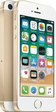 Simple Mobile - Apple iPhone SE 4G LTE with 32GB Memory Prepaid Cell Phone -Gold