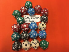 20x 20 Random Spindown dice d20 mtg Magic the gathering die CNY