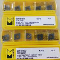10Pcs Kennametal CCMT09T302LF KC5010 CCMT32505LF KC5010 CNC Carbide inserts New
