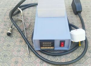 Temperature controller for a smokehouse, brewery, cheese factory, etc.