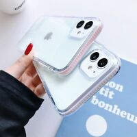 For iPhone 12 Pro Max 11 Pro Max XR XS 8 Shockproof Bumper Case Clear Soft Cover