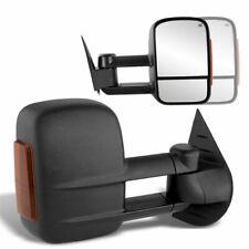 For 14-18 Silverado Sierra Tow Mirror Power+Heated+Side LED Signal Side Mirror