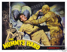 THE MUMMY'S HAND LOBBY SCENE CARD # 4 POSTER 1940 DICK FORAN TOM TYLER