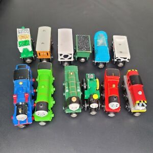 Thomas The Train & Friends Wooden Railway Train Magnetic lot of 12