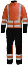 "Helly Hansen Alta Suit 76696 Coverall/Boilersuit Orange/Charcoal 38"" C48 #HH24"