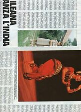 SP32 Clipping-Ritaglio 1988 Ilenia Citaristi danza l'India