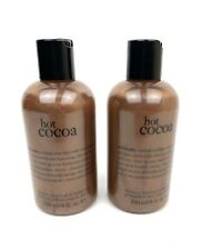 2 Philosophy Hot Cocoa Shampoo, Shower Gel & Bubble Bath 8 oz. New & Sealed