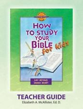 Discover 4 Yourselfr Teacher Guide: How to Study Your Bible for Kids