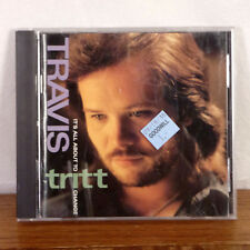 Travis Tritt It's All About to Change Country CD 1991 Warner Bros Playgraded M-