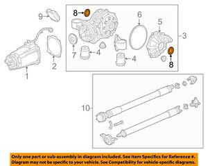 GM OEM Rear-Axle Seals 23276834