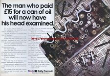 Mobil1 Rally Formula Oil 1988 Magazine Advert #2166