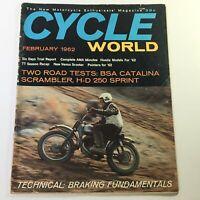VTG Cycle World Magazine February 1962 - BSA Catalina Scrambler & H-D 250 Sprint