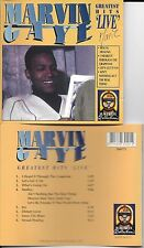 CD 8 TITRES MARVIN GAYE GREATEST HITS LIVE DE 1993 GALAXY 3880772