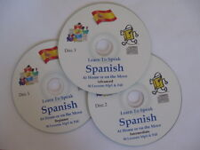 Learn to Speak SPANISH a complete Mp3 & PDF course of 90+ lessons - 3 Mp3 CDs