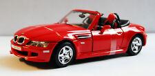 Modellauto  BMW M Roadster, rot, Maßstab 1:24 von Bburago