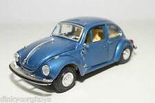 GAMA 442 VW VOLKSWAGEN BEETLE KAFER MAGGIOLONE 1302 METALLIC BLUE EXCELLENT