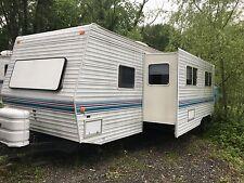 Nice 99 PROWLER 31ft camper HUGE SLIDE bunk beds NO RESERVE Good camper
