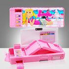 Pretty Girl Students Stationery Bonus Gift/Multi-function Pencil Case Box New