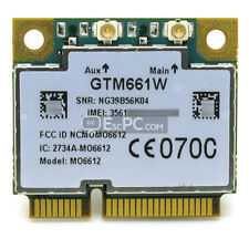 Brand New Unlocked Option GTM661W MO6612 Half Size Mini PCI-E Card WCDMA HSPA