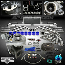 T04E T3/T4 9PC TURBO KIT TURBOCHARGER+WG+MANIFOLD+INTERCOOLER 84-91 BMW E30 325