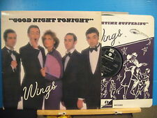 Wings - Goodnight Tonight - with inner - Free UK Post