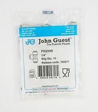 "John Guest 1/4"" Pari Tee, Jg, Ro Unità, Frigo, Acqua PI0208S - 10 Confezione"