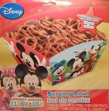 Party Serving Bowl Disney MICKEY MINNIE MOUSE Treats Birthday Supplies S1