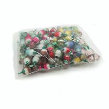 100Pcs Multicolored Dollhouse Frappuccino Coffee Cups 1:6 Miniature Accessories