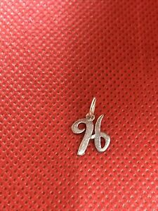 James Avery Sterling Silver Letter Initial H Charm