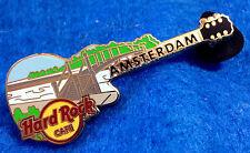 RARE AMSTERDAM DUTCH BRIDGE SERIES GUITAR #12 Hard Rock Cafe PIN LE