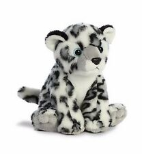 "Aurora Destination Nation Snow Leopard Plush, 8"" Stuffed Animal"