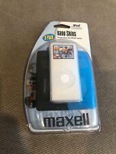 iPod Nano Case Nano Skins 3 Pack (Black, White, Blue) Shock-Absorbing