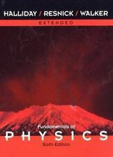 WIE Fundamentals of Physics Extended, Sixth Edition, by Halliday, David, Resnic
