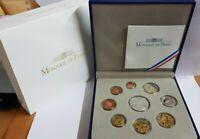 Offiz. KMS / Kursmünzensatz 1 Cent - 2 Euro Frankreich 2010 * PP * im ETUI  / BE