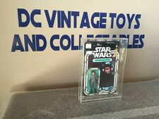 Vintage Star Wars KENNER 1978 DEATH SQUAD COMMANDER 12-BACK B Card